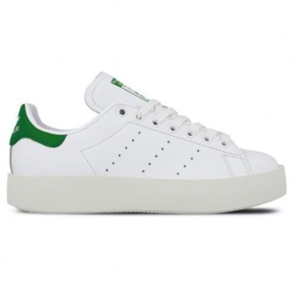 official photos f4dcb 2e2ea Adidas Women Stan Smith Bold Platform Sneakers